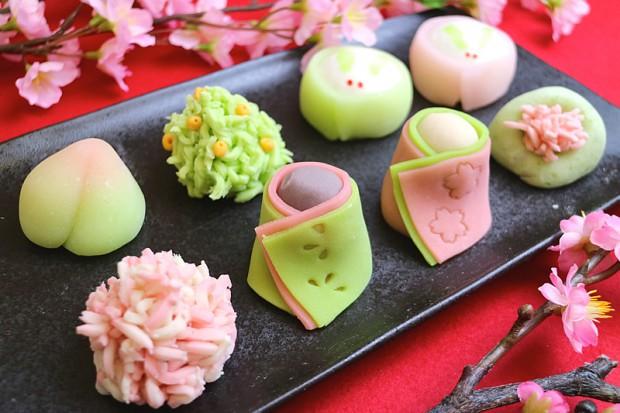 季節ごとの行事のお菓子