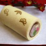和菓子の恵方巻